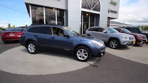 subaru outback touring blue 2014 subaru outback 2 5i premium twilight blue e3299022 mt