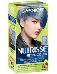 ultra glaze for hair nutrisse ultra color light cool denim hair color garnier