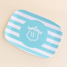 personalized melamine platters personalized melamine platter