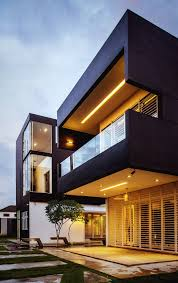 Design Houses by Interesting House Exterior Design In Kulai Malaysia House