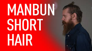 length hair neededfor samuraihair man bun for short hair eric bandholz youtube
