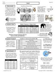 sound waves worksheet murray lesson plans u0026 worksheets