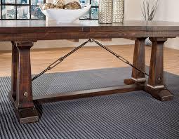 intercon dining room hayden trestle table base hy ta 42100 rse bse