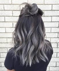 Color For Gray Hair Enhancing Magnificent Ideas For Getting Silver Highlights Enjoy Our Gallery