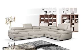 beige leather sectional sofa 2119 beige leather sectional sofa casa eleganza