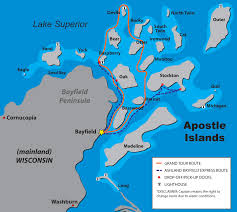 Where Is Holland On The Map Apostle Islands Map U0026 Directions Apostle Islands Cruises
