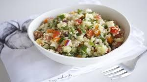 quinoa cuisine taboulé de quinoa cuisine futée parents pressés