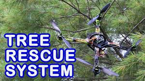 how to recover drones or other things stuck high up in a tree
