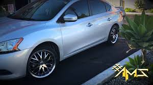 custom nissan sentra project 42 red sport 2014 nissan sentra on 18