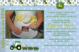 deere baby shower hunt 4 announcements and invites deere baby shower announcement