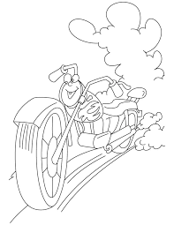 cool motorcycle coloring pages download free cool