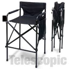 Small Fold Up Camping Chairs Buy Telescopic Tall Director U0026 39 S Chair Folding Directors Chair