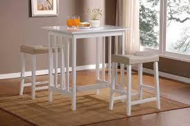 Home Decor Scottsdale by Homelegance Scottsdale 3 Pc Dinette Set In White Finish 5310w
