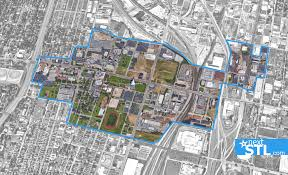 Saint Louis Zip Code Map by St Louis Set To Blight 395 Acres In City U0027s Fast Developing