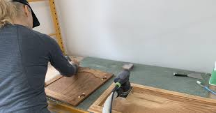 can i paint kitchen cabinets without sanding sanding kitchen cabinets painting guys