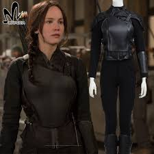 Hunger Games Halloween Costumes Aliexpress Buy Hunger Games Katniss Everdeen Cosplay