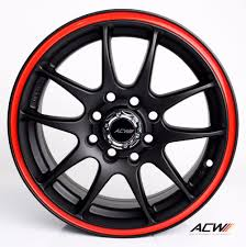 toyota nissan honda anchi alloy wheels rims 15 inch for ford fiesta honda city fit