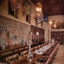 Grand Rooms Tour Details Overview And Map - Hearst castle dining room