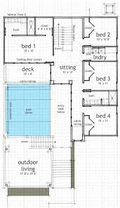 modern house plans home design floor plan second story