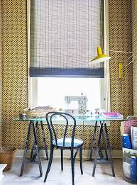 sewing tables by sara tour sara ruffin costello s striking and stylish home one kings