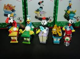 1998 disney mickey express complete set hallmark ornament at