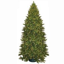 general foam 12 ft pre lit carolina fir artificial tree