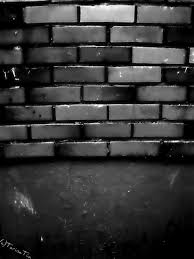interior delightful devian art dark grey brick wall for home