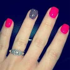 cute pink nail designs for small nails unique cute simple and