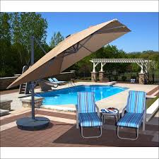 Cantilever Patio Umbrella With Base Exteriors Marvelous Heavy Umbrella Base Cantilever Umbrella