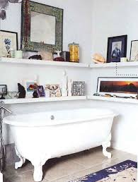 stylish bathroom shelving ideas oval shape white sink and oil