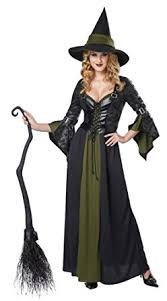 Victorian Halloween Costumes Women Amazon California Costumes Women U0027s Classic Witch Long Dress