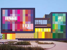 Best Color Codes by Attractive Pensive Colorful Building Exterior Architecture Part