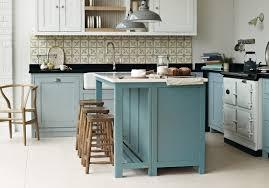 cuisine bleu pastel cuisine bleue et blanche gallery of cuisine bois bleue blanche