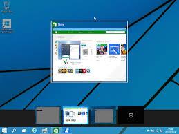 bureau virtuel windows 7 premier coup d oeil à windows 10 technical preview