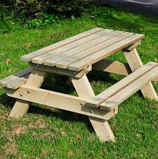 photo gorgeous childrens wooden picnic table used plastic