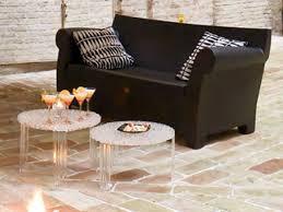 sofa canapé sofa canapé design kartell en polyéthylène pour jardin