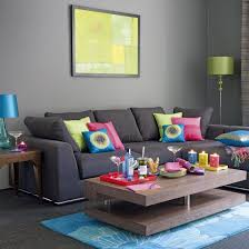What Colour Sofa Goes With Cream Carpet Living Room Grey Sofa Ideas With End Table Plus Lamp And Cream
