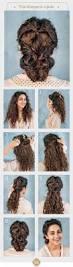 easy hairstyles for long hair curly hair hairsutras