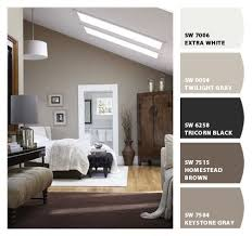 Grey And Brown Bedroom Color Palette Best 25 Plum Paint Ideas On Pinterest Purple Bedrooms Rustic