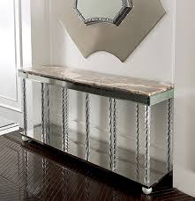 Venetian Console Table Murano Glass And Marble Console Table 10210 Home Decors