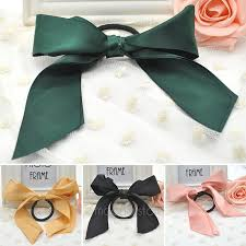 ribbon hair ties hot hair tie rope fashion hair accessories women ribbon bow hair