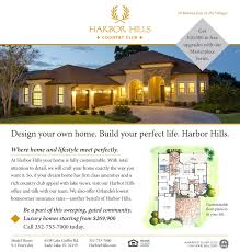 floor plans harbor hills country club