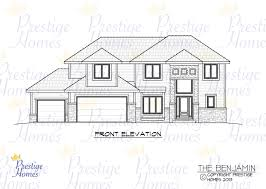 prestige homes floor plans prestige homes floor plan benjamin front