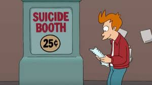 Fry Meme Generator - suicide booth know your meme