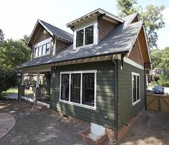 craftsman style home with james hardie artisan siding in mountain