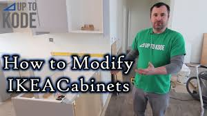 build kitchen island ikea cabinets how to modify ikea cabinets for islands and peninsulas