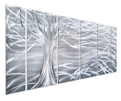 Dining U2013 Pure Patio Amazon Com Pure Art Willow Tree Of Life Metal Wall Art Abstract