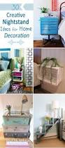 Idea For Home Decoration 30 Creative Nightstand Ideas For Home Decoration Hative