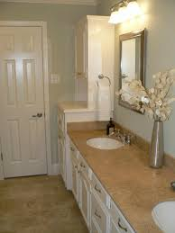 Bathroom Molding Ideas Jill Bath Decorating Ideas Update Painted Cabinets Blue Sage