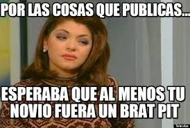 Memes De Soraya - por las cosas que publicas soraya meme on memegen